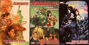 Runaways-Marvel-TPB-Lot-Whedon-3-Books