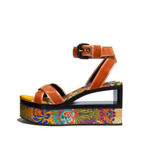 36 Femme Chaussures 36 Ae14 Orange Casadei Compensées casa FwURPqtXqx