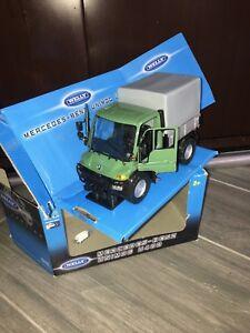 WELLY-MERCEDES-BENZ-UNIMOG-U400-U-400-1-32-truck-truck-truck-box-tarp
