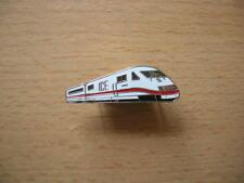 Pin E-Triebwagen ICE silberfarben weiß/rot Art. 6007
