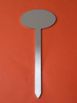 Bello 25 Stecketikette Massiccio Alluminio Tenaci Piante Etichette Nuovo + Buono-ten Neu+gut It-it