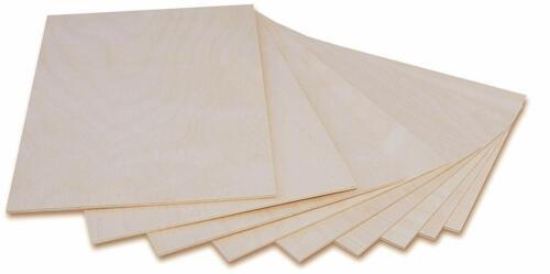 Creative Deco A4 Sperrholz-Platte Dünne Sperrholz-Zuschnitte300 x 210 x 3 mm