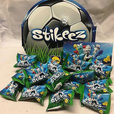 Lidl stikeez football case 20 stickeez packs neuf non ouvert sacs stickez scellé