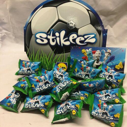 Lidl Stikeez fútbol Estuche 20 paquetes de Stickeez bolsas sin abrir nuevo sellado stickez