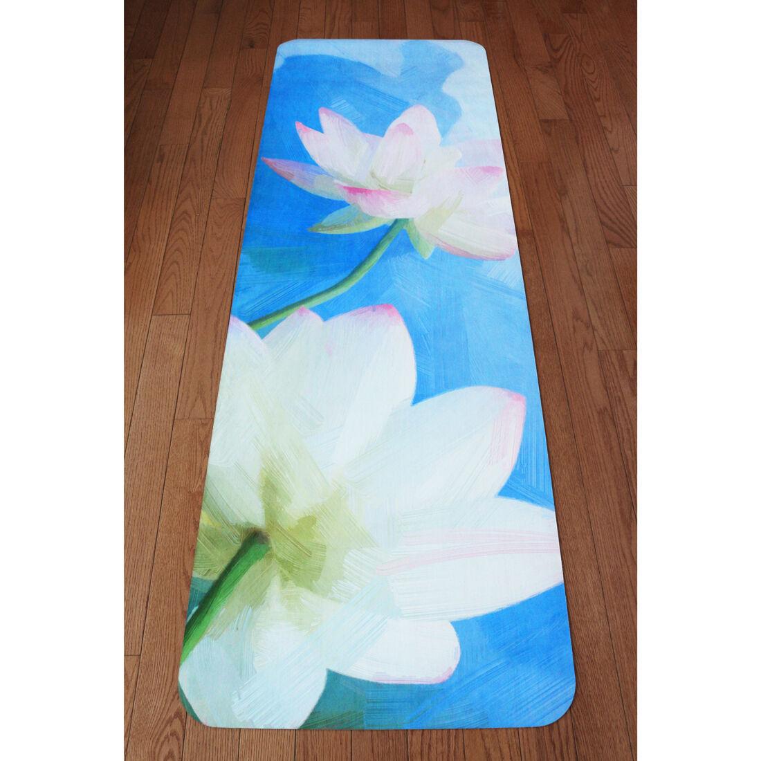 Premium Eco Yoga Mat – Expanding Lotus, Eco Premium Friendly 26214a