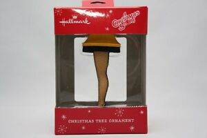 HALLMARK 2014 A CHRISTMAS STORY LEG LAMP MAJOR AWARD CHRISTMAS TREE ORNAMENT NEW