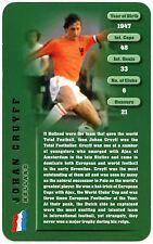 Johan Cruyff - Football Legends - Top Trumps Card (C130)