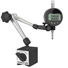 Magnetic Hold Base Dial Indicator Holder 1 Electronic Digital Test Indicator
