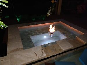 Floating Propane Fire Bowls For Your Pool Or Pond From