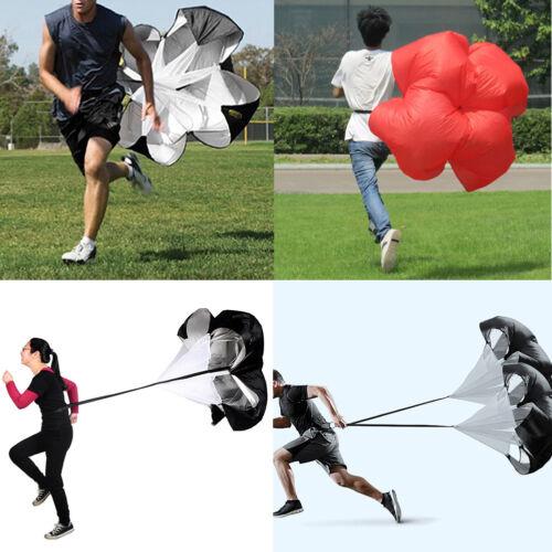 "56/"" Speed Parachute Running Resistance Power Training Drill Sprint Chute Tool US"