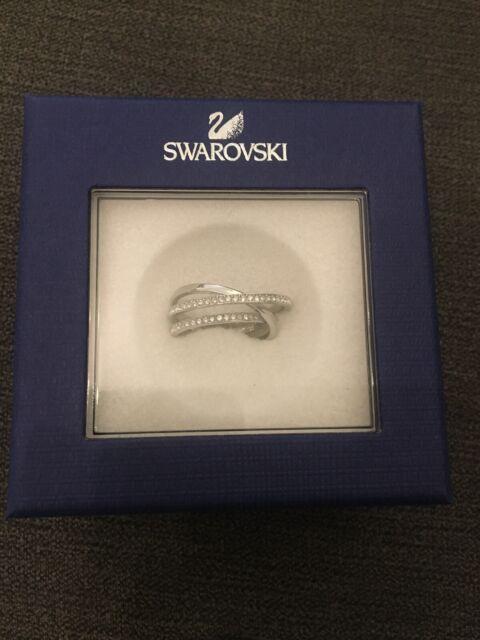 BNIB Swarovski Ring Size 55 CRY/RHS 5106543