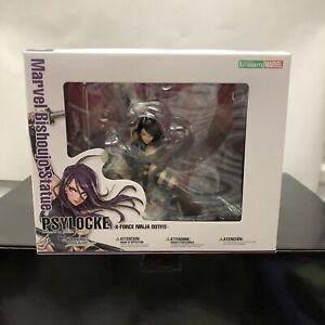 Marvel Bishoujo Beautiful Girl Statue X-Men Psylocke MK154  PVC Figure IN BOX