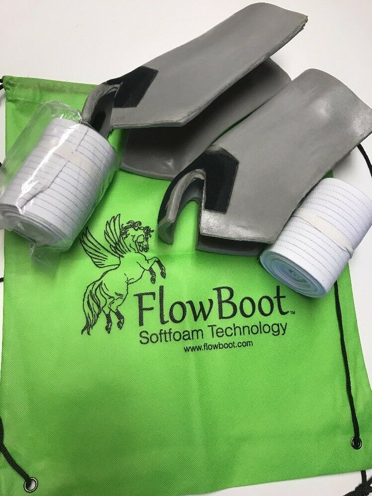 Flowboot Performance Boot And Breathable Wraps Large horse sports boots rodeo