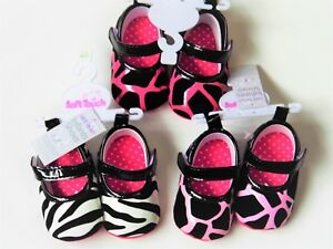 23a07ef48a6d BABY GIRL PRAM SHOES WITH SUEDE & PATENT EFFECT ANIMAL PRINT 3 ...