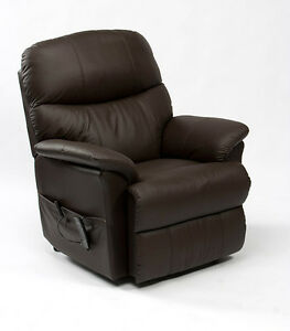 Restwell Lars Leather Electric Power Recliner Chair 4