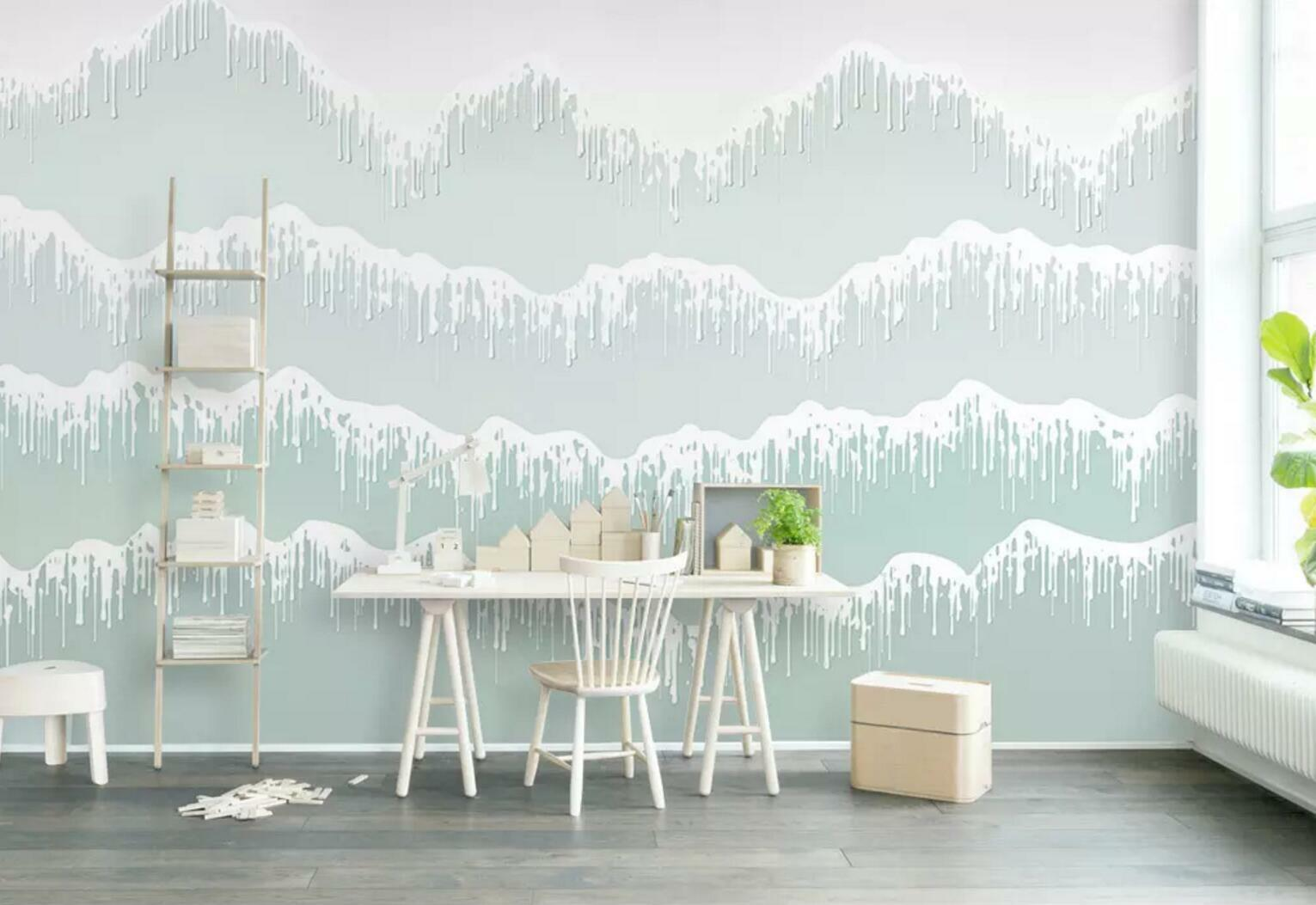 3D Green Water 984 Wall Paper Exclusive MXY Wallpaper Mural Decal Indoor Wall AJ