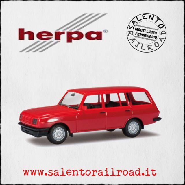 Herpa 024266-003 Automobile: Wartburg 353 85 Red - 1/87