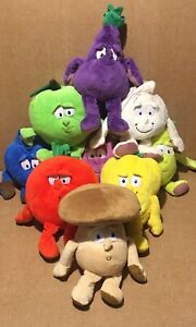 Co-op-Goodness-Gang-Fruit-amp-Vegetables-Soft-Plush-Toys-Choose-Character