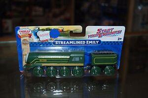 Thomas-amp-Friends-Fisher-Price-Wooden-Railway-DFW78-Streamlined-Emily