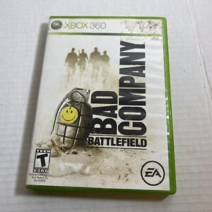 Battlefield: Bad Company Microsoft Xbox 360 Complete Video Game Free Ship