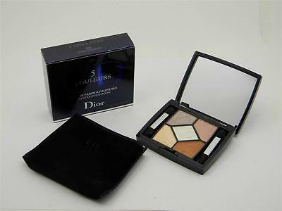 Dior 5 Couleurs Eyeshadow Palette 360 Amber Treasure New In Box