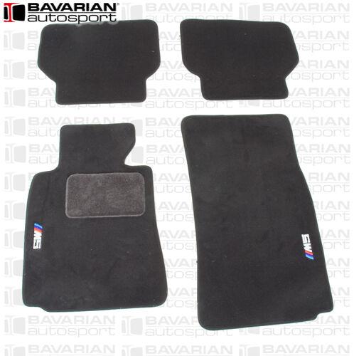 BMW E39 M5 OEM Genuine BMW Floor Mat Set- 4 Piece Set -  Black - With M5 Logo