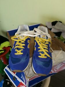 new balance gialle e blu