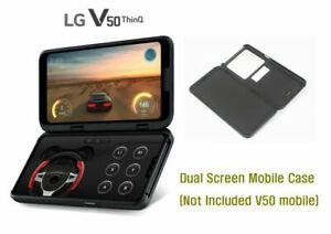 LG-ThinQ-V50-doppio-schermo-Genuine-Custodia-Per-Cellulare-LM-V500N-non-incluso-nero