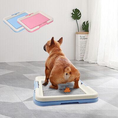 Pet Toilet Dog Potty Mat Tray Portable Puppy Pee Training Pads Indoor Cat  Urinal | eBay