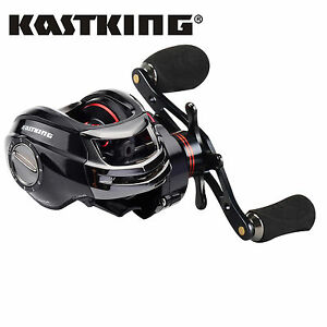 KastKing-Royal-Legend-Baitcastrollen-Linkshand-Baitcast-Rolle-Aluminiumrolle