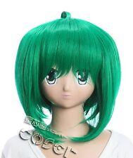 W-144 Macross Frontier Ranka Lee Cosplay Parrucca Wig calore fisso verde green
