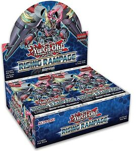 Rising Rampage Booster Box 1st Edition Yu-Gi-Oh!