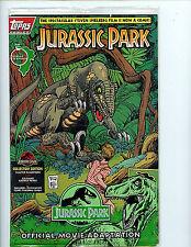 Jurassic Park #1 Movie Edition Bagged Sealed Topps Comic nm/m 1993 + Bonus H28