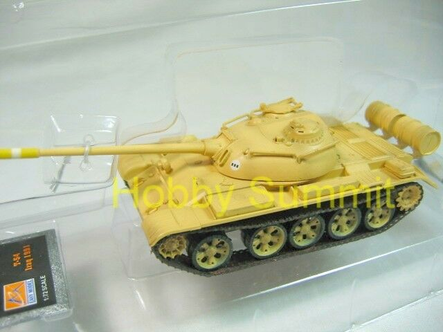 1/72 Iraqi Army  T-54  Tank  Iraq 1991   Painted & Finished Model Russian  35022
