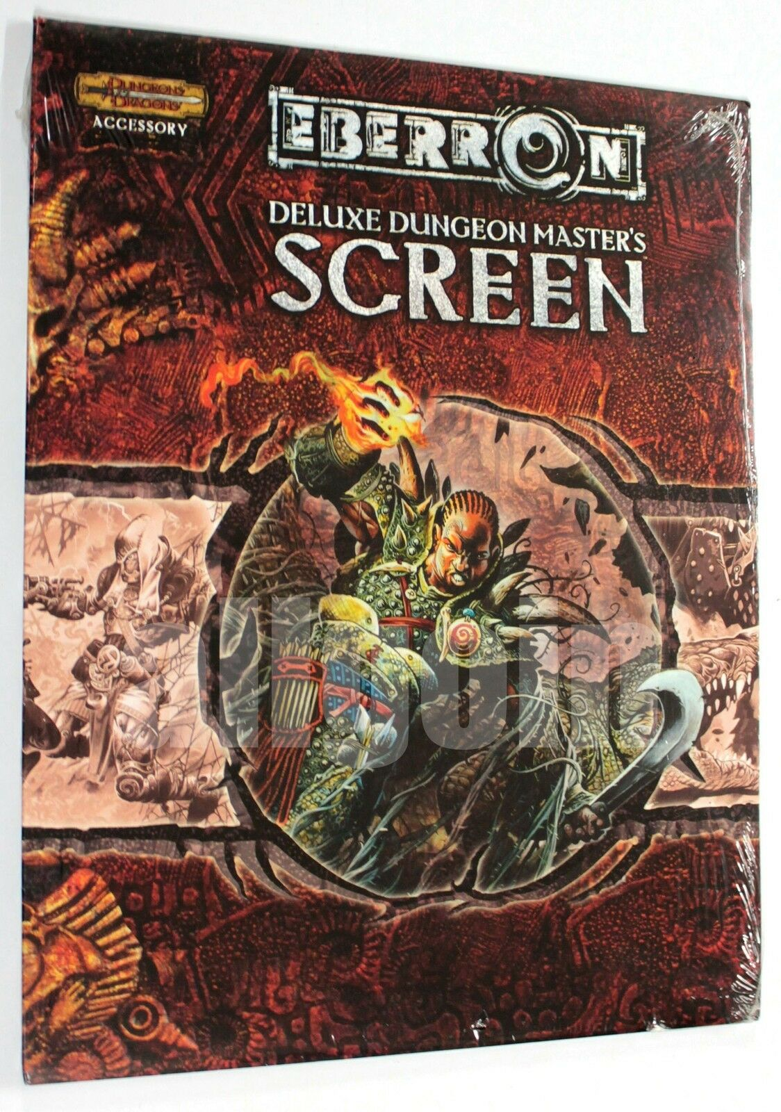 Dungeons & Dragons EBERRON DELUXE DUNGEON  MASTER'S SCREEN 2004 WOTC D&D 3.5 nuovo  vendita con alto sconto