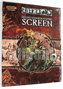 Dungeons & Dragons EBERRON DELUXE DUNGEON MASTER'S SCREEN 2004 WOTC D&D 3.5 NEW
