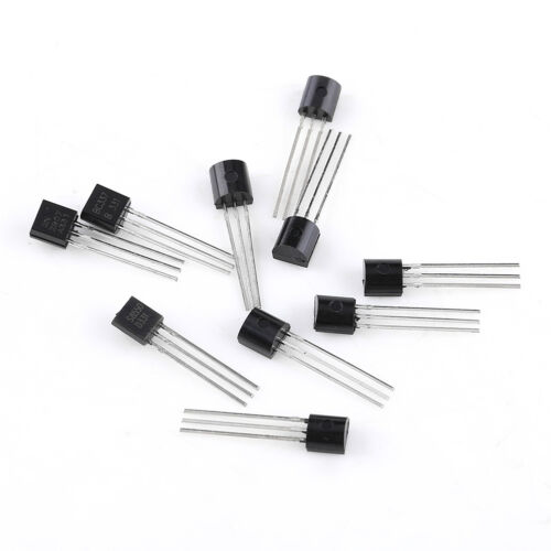 10 valeurs x20 200pcs négatif Positif Négatif PNP Power Transistor Assortiment Set Box BC337 BC547 WTT