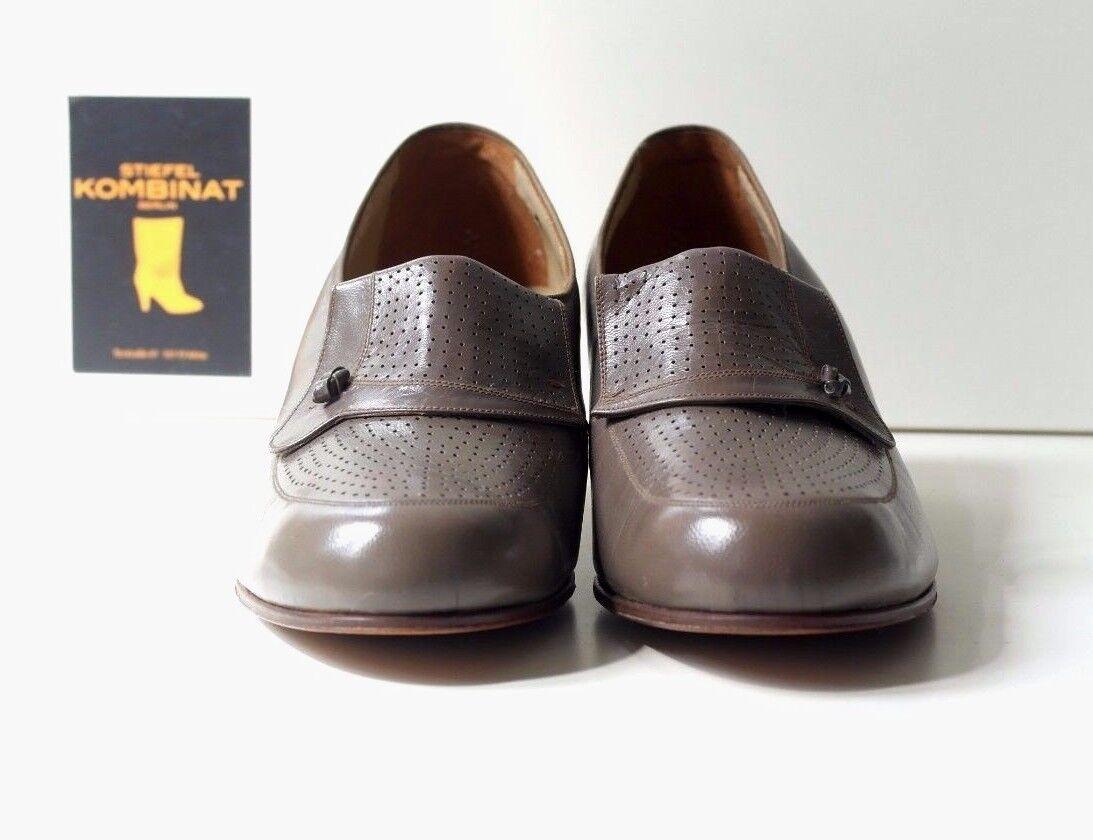 True vintage Zapatos señora Rheinberger rectosan zatella 3 zapato zapato zapato bajo Taupe EUR 38  marcas en línea venta barata