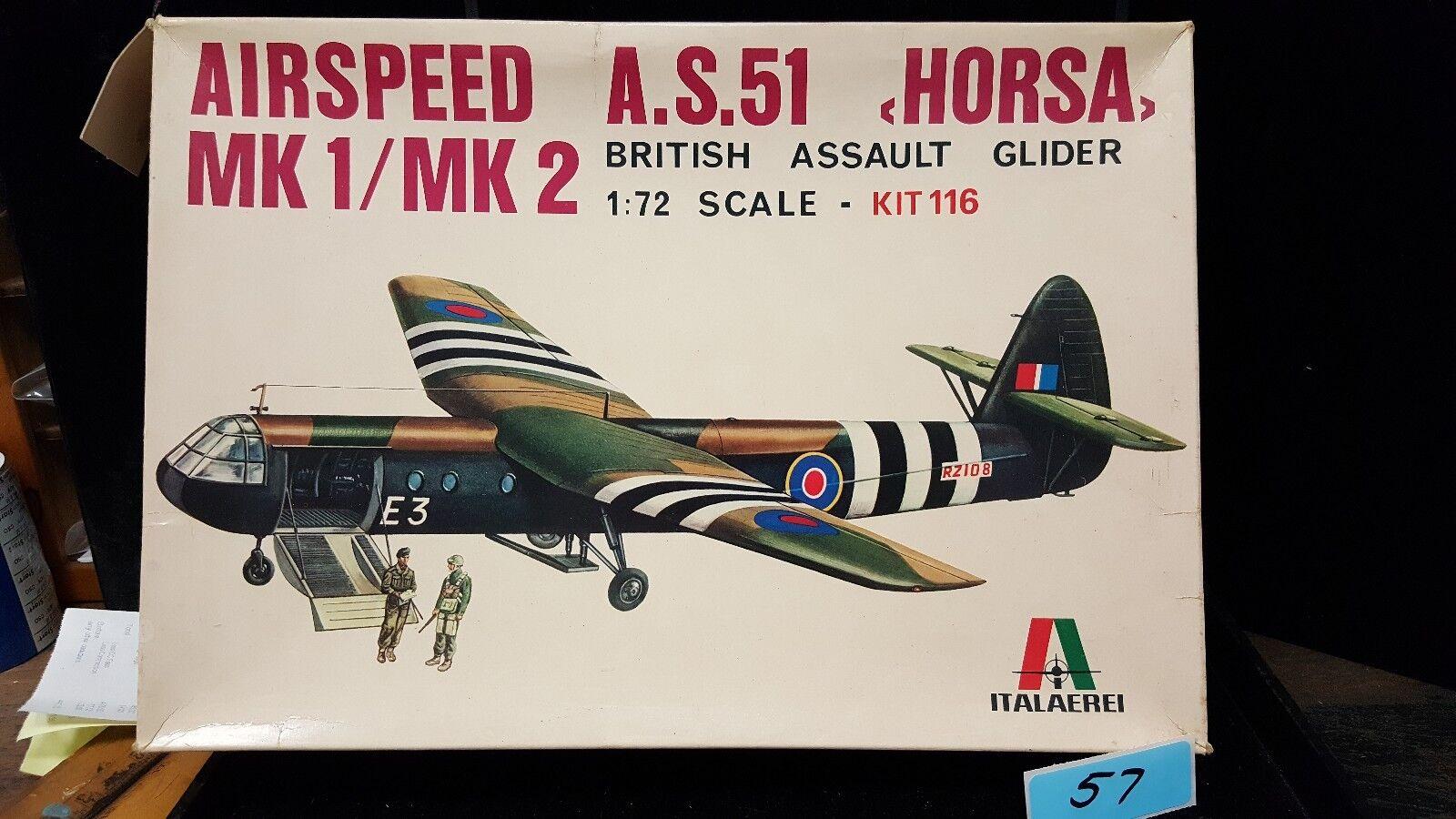 Italaerei 1 72 BritishAssault Glider Mk1 Mk2 AS51 Horsa Lot 57