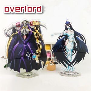 Image Is Loading Anime Overlord Ainz Ooal Gown Acrylic Figures Stand