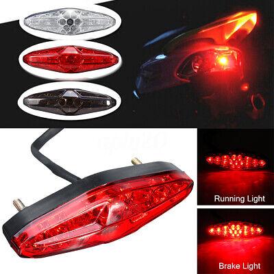 bianco Luce targa moto 12V universale LED targa moto Luce targa a LED fanale posteriore