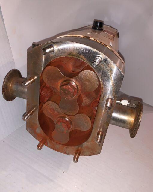 2 ALFA Laval SRU Model SRU3NLS Rotary Lobe Pump P20 (2611