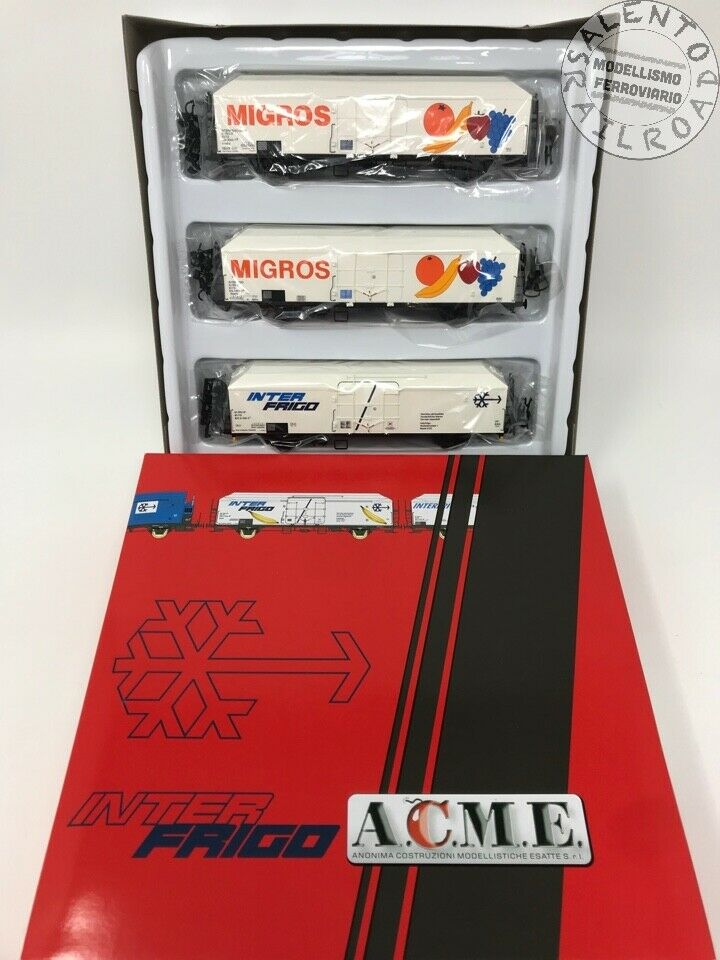 ACME 45072 SET 3 WAGONS isothermal Interfrigo Migros FS - Ep. V