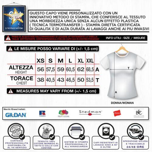 T-Shirt Maglietta Donna LA MIGLIOR NONNA FESTA DEI NONNI Idea Regalo Compleanno