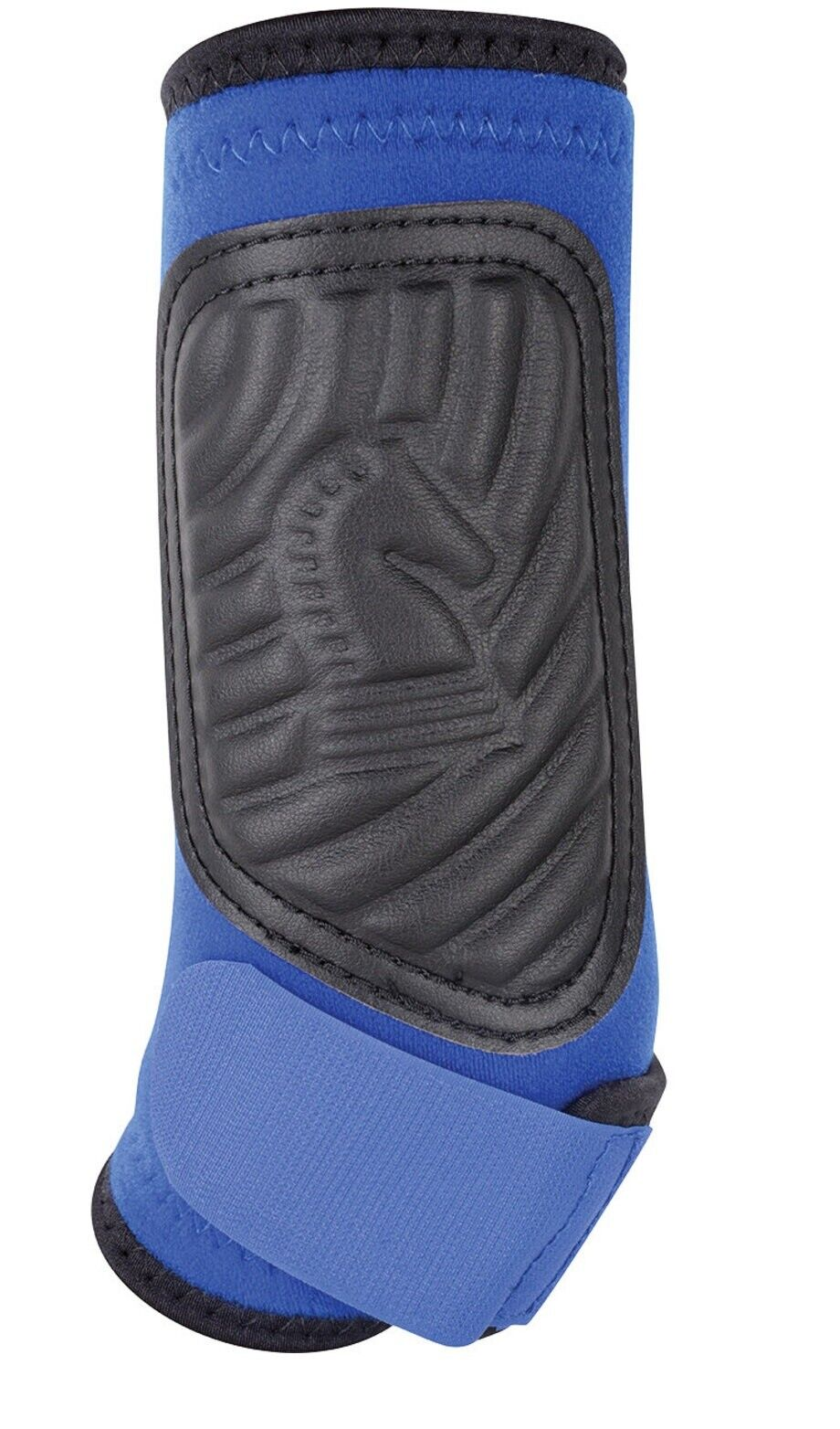 ClassicFit Boots Hind For Horses Leg Protection Support Medium Size Blue