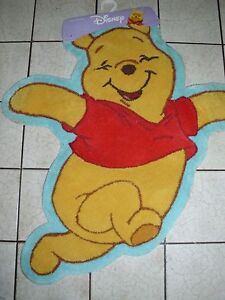 Winnie The Pooh Shaped Floor Rug New Ebay