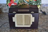 Vintage Setchell Carlson Tube Radio Works Good