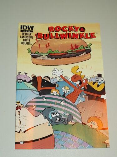 ROCKY /& BULLWINKLE #4 IDW COMICS VARIANT JUNE 2014