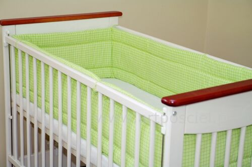 All round//all around Nursery bumper// 420 or 360 cm long// Padded 4 Sided//Cot //Bed