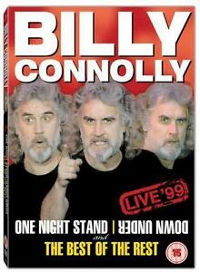 Billy Connolly - One Night Stand Down Under / Best Of The Rest (DVD, 2004) Used